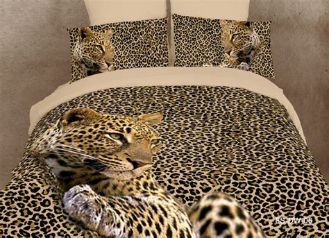 leopard print comforter set bedding discount bedlinen bed set queenfull quiltduvet