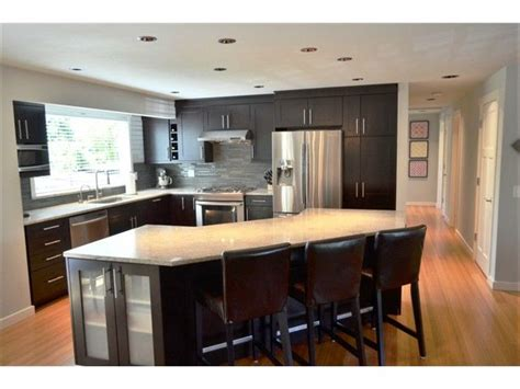 split level kitchen island best 25 split level kitchen ideas on kitchen