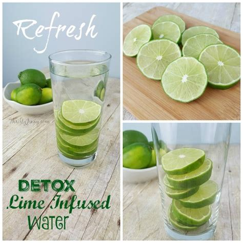 Lime Water Detox Symptoms by Detox Lime Infused Water Thrifty Jinxy