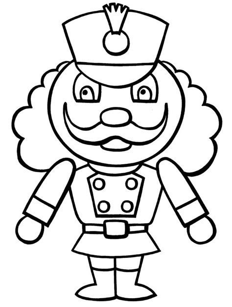 Nutcracker Coloring Page free printable nutcracker coloring pages for