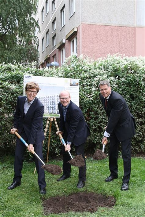 Wbm Baut 69 Wohnungen In Der Colbestra 223 E Sven Heinemann
