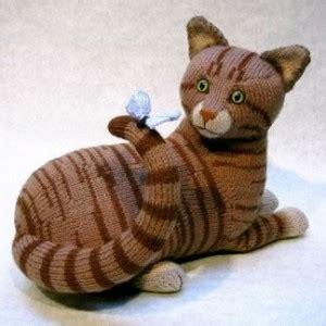 alan dart black and white cat knitting pattern tabby alan dart