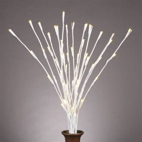 gerson 36863 20 quot white willow battery operated led
