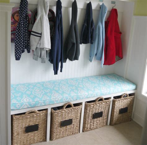 mudroom bench cushion custom cushion mudroom seat bench cushion with cording