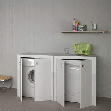 mobile porta lavatrice mobili lavanderia per lavatrice e asciugatrice design