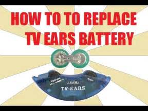 how to install a new battery in a car how to replace tv ears battery