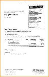 Rechnungskorrektur Umsatzsteuer Muster 9 Gutschrift Rechnung Muster Lesson Templated