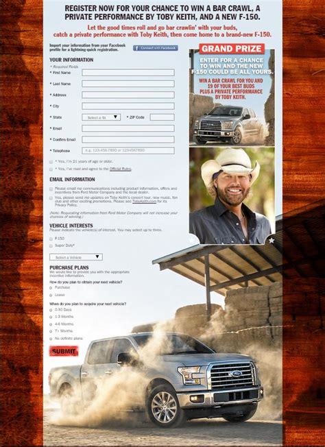 toby keith new orleans win toby keith a truck lamarque ford ronnielogues