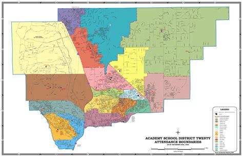 colorado springs district map academy district 20 schools a new school year begins