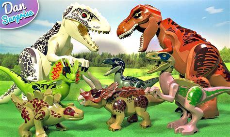 Mainan Animals World Set 8 awesome lego dinosaur toys jurassic world for