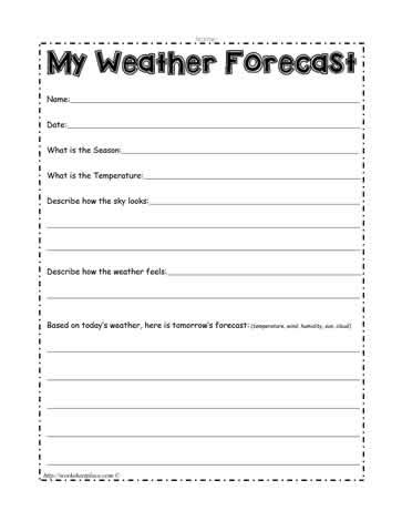 weather pattern activities pattern worksheets 187 weather pattern worksheets