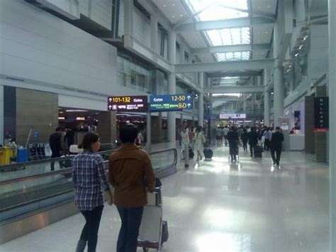seoul airport .   Picture of Incheon, South Korea
