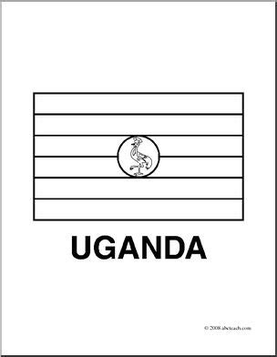 coloring page uganda flag clip art flags uganda coloring page i abcteach com