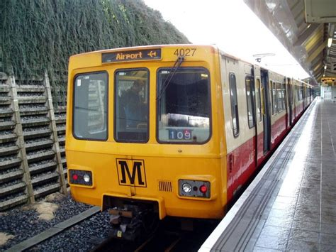 by metro newcastle airport metro station at newcastle airport 16th 169 martin