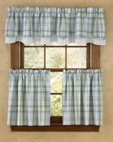 Park Designs Valance Sarasota Lined Layered Curtain Valance