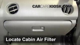 Bad Cabin Air Filter by 2002 2006 Acura Rsx Cabin Air Filter Check
