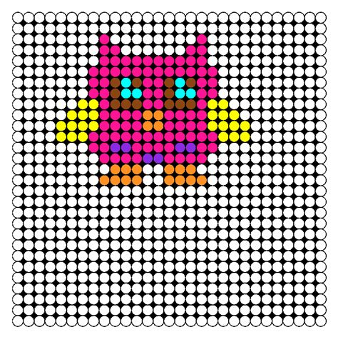 pony bead owl pattern kandi patterns for kandi cuffs animals pony bead patterns