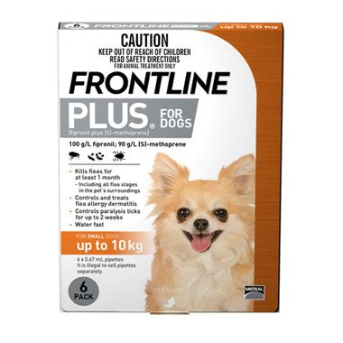 frontline plus for dogs tick flea treatment for small dogs frontline plus