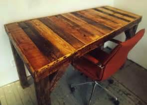 Diy Wood Desk Diy Pallet Desk Bob Vila Thumbs Up Bob Vila