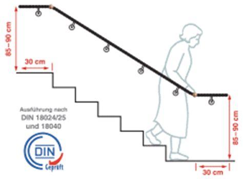 treppen handlauf vorschriften din 18040 1 treppen nullbarriere de