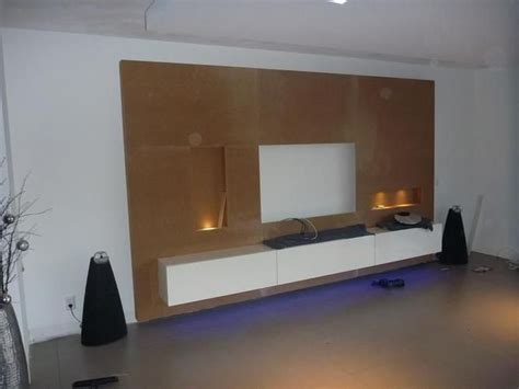 wohnideen wand tv wand huiskamer tvs wands and led