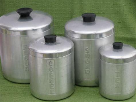 retro kitchen canister sets vintage kromex on canister sets canisters and kitchen canisters