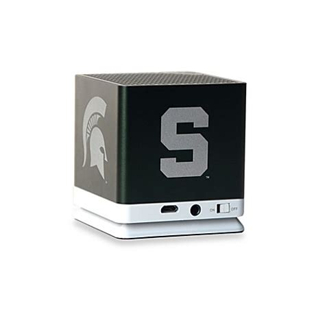 bed bath and beyond speakers buy blast michigan state bluetooth speaker from bed bath beyond