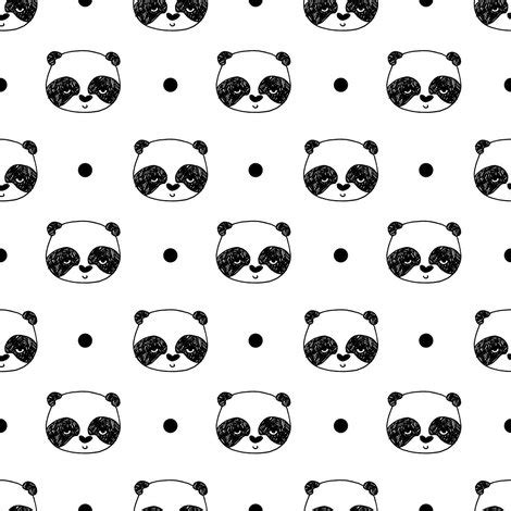 wallpaper black and white panda panda black and white scandi panda bear cute
