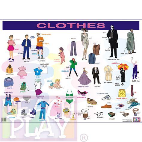 Imagenes De Ropa En Ingles Y Español | clothes ingl 233 s