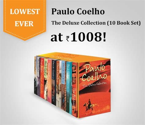 paulo coelho best books lowest paulo coelho the deluxe collection 10