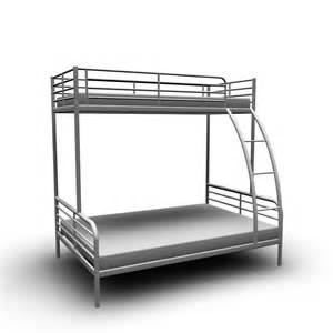 Ikea metal loft bed with desk children bunk bed with slide