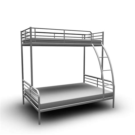 bunk beds ikea troms 214 bunk bed frame design and decorate your room in 3d