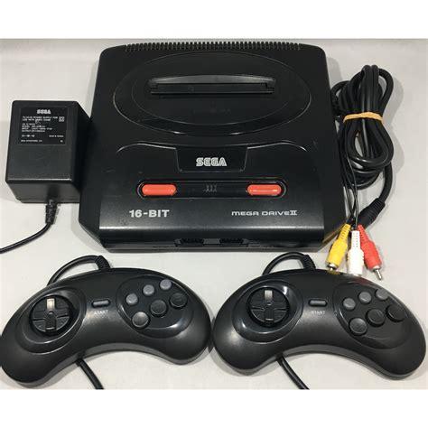 megadrive console sega megadrive 2 console 2 controllers pal complete