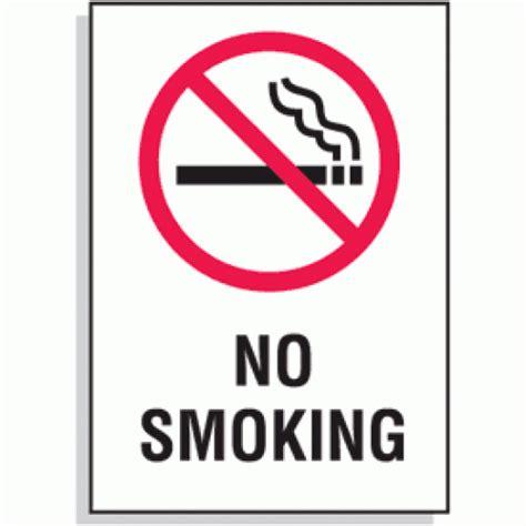 no smoking sign metal quot no smoking quot sign metal