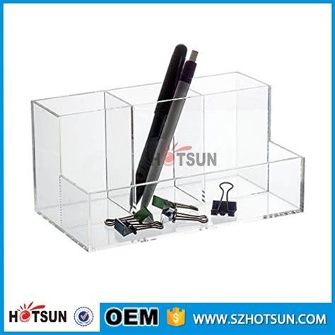 clear desk organizer new design clear acrylic office desk organizer