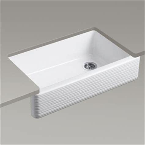 Ferguson Kitchen Sinks by K6351 0 Whitehaven Apron Front Specialty Sink Kitchen