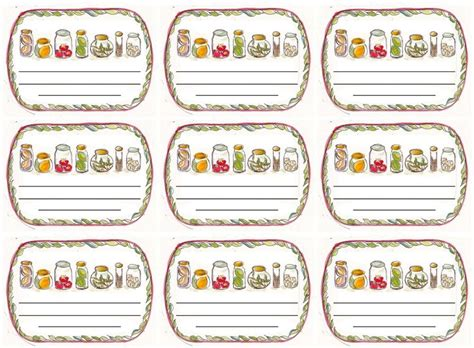 jam jar label template 54 best labels and tags images on free
