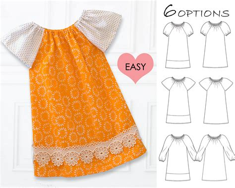 baby clothes pattern sewing easy baby dress pattern pdf baby sewing pattern baby peasant