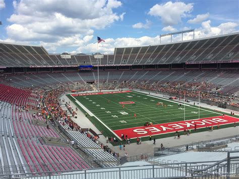 Ohio Stadium Student Section by Ohio Stadium Section 33b Rateyourseats