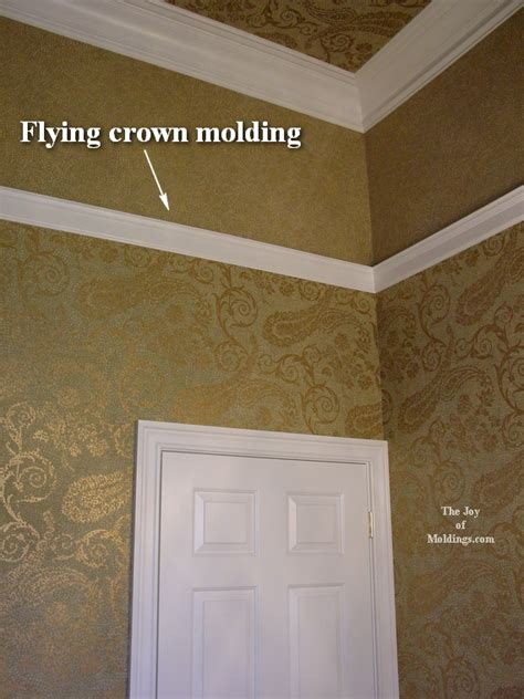 bathroom crown molding ideas how to install crown molding on vaulted or cathedral