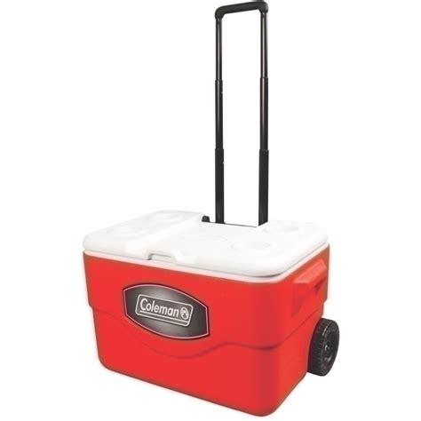 coleman 50 quart rolling cooler coleman xtreme 50 quart rolling cooler 19 99 free