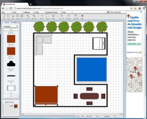 Floorplanner 3d navrhn te si byt on line je to zadarmo a bez instalace