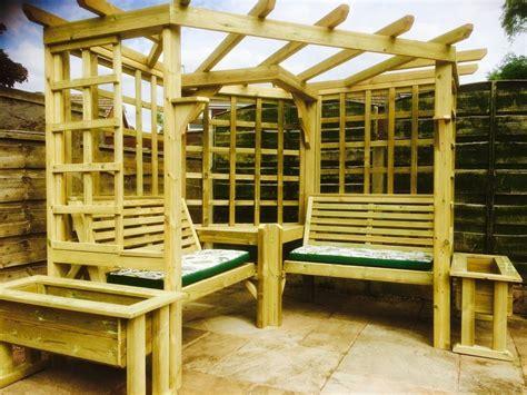 arbour bench corner arbour garden arbour seat pergola trellis wood arch