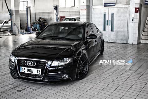 audi a4 matte black audi a4 adv5 2 m v2 concave wheels matte black matte
