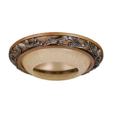 decorative trim home depot hton bay 6 in caffe patina recessed can fixtures trim