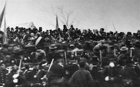 lincoln in gettysburg gettysburg lincoln photo