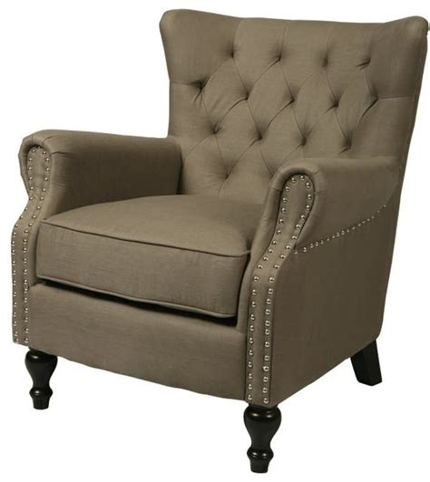 Traditional Accent Chair Yaba Club Chair Traditional Armchairs Accent Chairs By Wefurnit