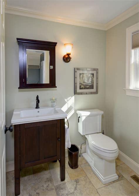 traditional  bath remodel crown molding tile floor
