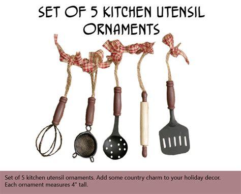 kitchen tree ornaments miniature kitchen utensils tree ornaments 28 images