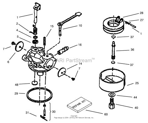 snowblower carburetor diagram toro 38182 ccr powerlite snowthrower 2003 sn 230000001
